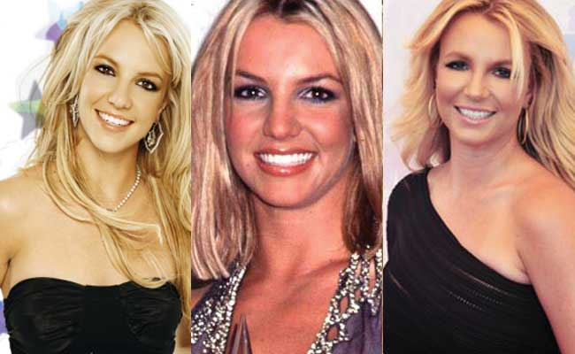 and work Britney spears before after