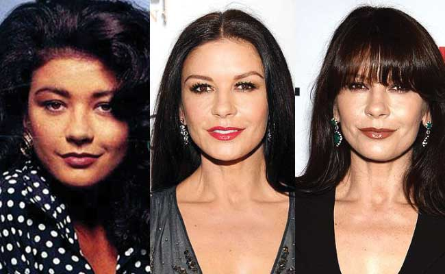 catherine zeta jones plastic surgery before and after photos 2018
