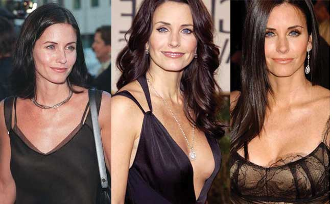 courteney cox plastic surgery before and after photos 2019