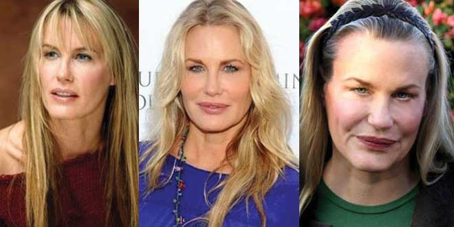 daryl hannah plastic surgery beforea and after photos 2019