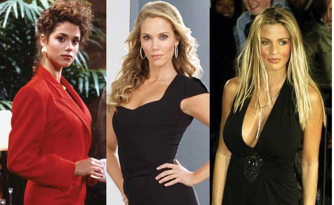 elizabeth berkley plastic surgery before and after photos 2018