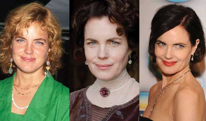 elizabeth mcgovern plastic surgery before and after photos 2019