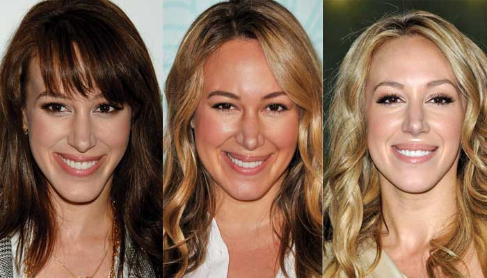 haylie duff plastic surgery before and after photos 2021