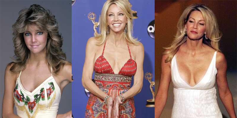 heather locklear plastic surgery before and after photos 2019