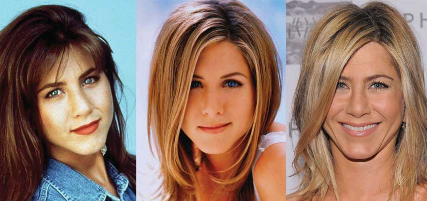 jennifer aniston plastic surgery before and after photos 2019