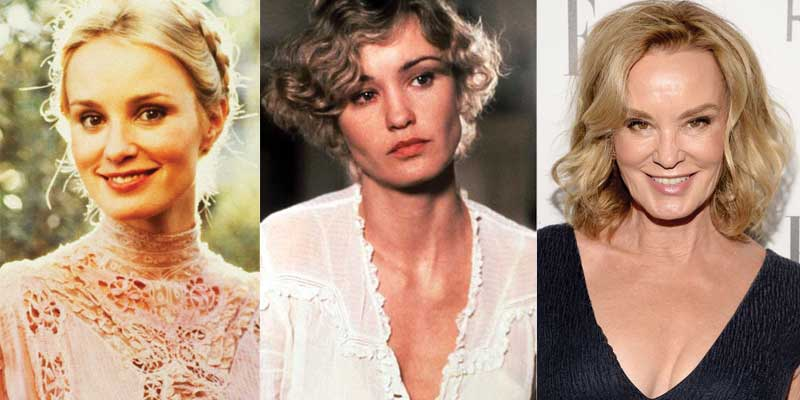 jessica lange plastic surgery before and after photos 2021