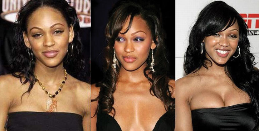 meagan good before and after plastic surgery 2019
