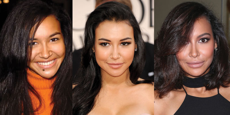 naya rivera plastic surgery before and after 2021