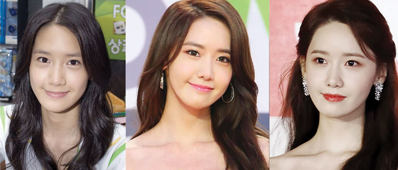 yoona before and after plastic surgery 2021