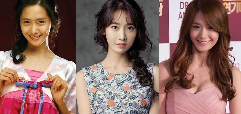 yoona plastic surgery before and after photos 2020
